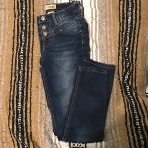 High Wasted Deep Blue Jeans Youth 10 (girl)